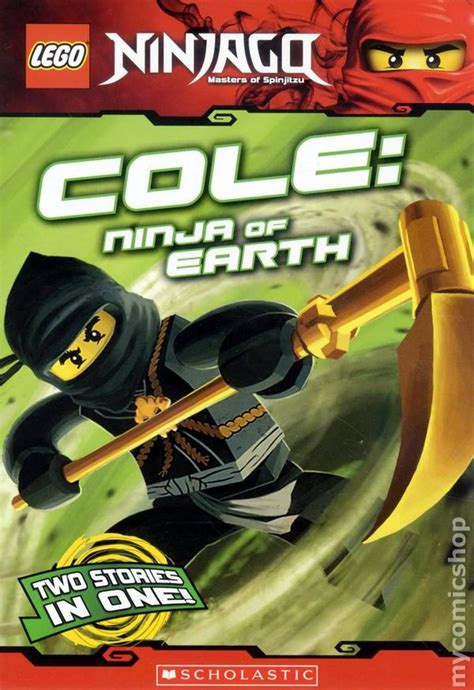 Lego Ninjago Cole Of Earth lego ninjago cole of earth sc 2012 digest comic books