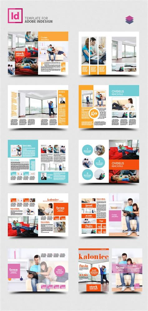 Free Indesign Pro Magazine Template Kalonice Designing Templates With Indesign