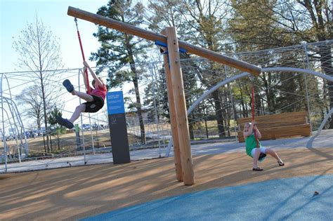 teeter totter swing making playgrounds more challenging wsj