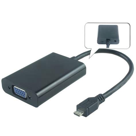 Kabel Micro Usb To Vga premiumcord mhl micro usb hdtv adapt 233 r kabel na vga