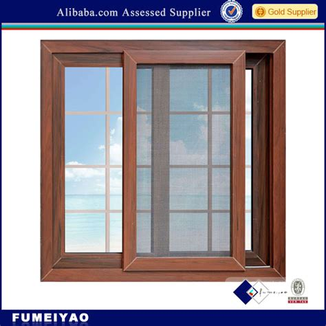 Secure Sliding Windows Decorating Security Sliding Window With Mosquito Net View Aluminium Sliding Window With Tempered Glass