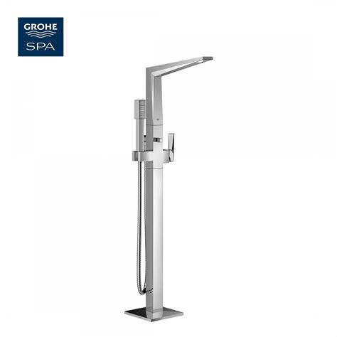 grohe bathroom taps uk grohe allure brilliant floorstanding bath shower mixer set