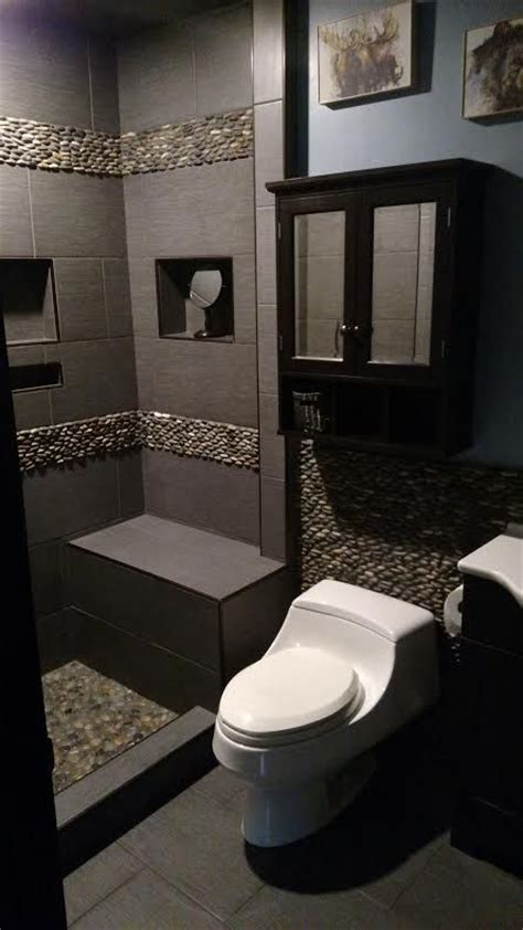 White Pebble Tiles Bathroom by 541 Best Bathroom Pebble Tile And Tile Ideas Images