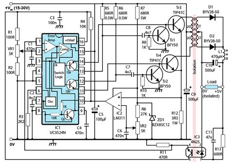 schematic for switch mode power supply get free image