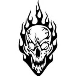 coloring pages fire skulls drawings of skulls on fire clipart best