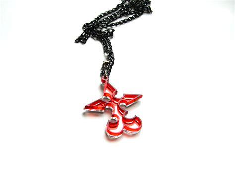 kingdom hearts nobody emblem pendant necklace