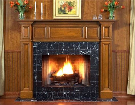 Fireplace Mantel Designs Wood by The Oxford Custom Wood Fireplace Mantel Sorround From