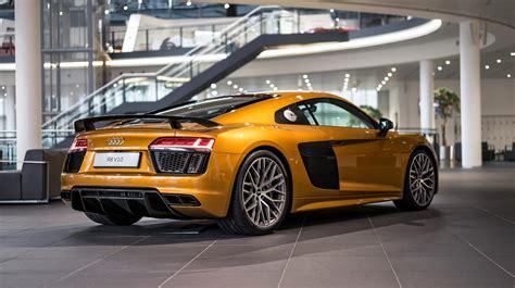 Audi Exklusiv orange perleffekt audi r8 v10 plus by audi exclusive