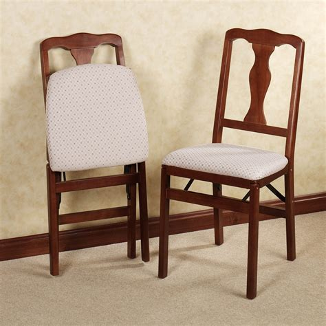 Wood Folding Dining Chairs Padded Wooden Folding Chairs Are Comfortable Nealasher Chair