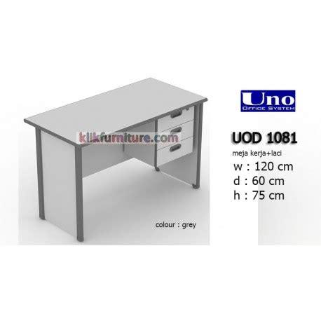 Meja Kerja Topix uod 1081 uno meja kerja kantor 3 laci harga promo