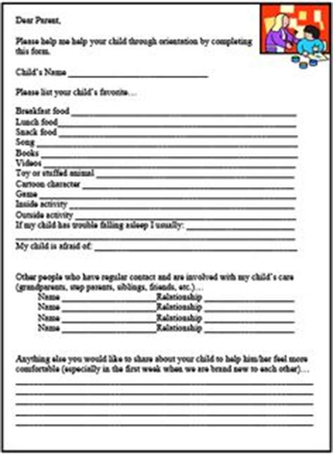 child care assistant questions printable