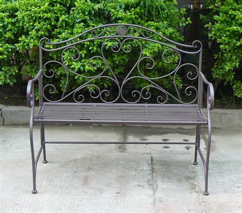 wrought iron garden benches sale top sale heart shaped garden 2 seater wrought iron bench