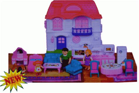 my family doll house keenway my happy family doll house playset with lights sounds figures images frompo