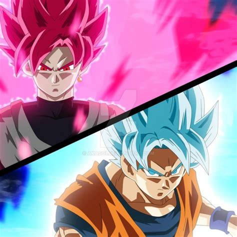 imagenes de goku rose una nueva transformacion en dragon ball super goku rosa