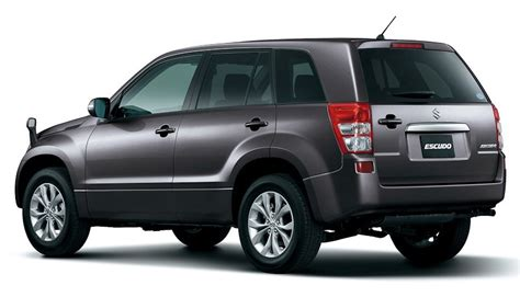 Maruti Suzuki Grand Vitara Specifications 2013 New Maruti Grand Vitara 3 Quarter Rear Silver Metallic