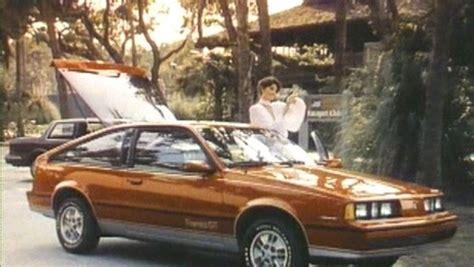 oldsmobile firenza gt hatchback commercial
