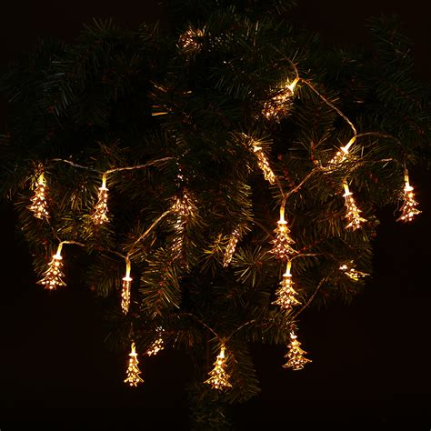 Outdoor Xmas Christmas Tree Led Strip Flashing String Blinking String Lights