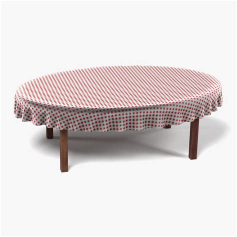 tablecloth for oval table 3d 3ds table tablecloth oval