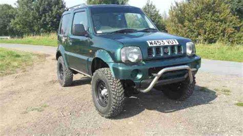 suzuki jeep 2000 suzuki 2000 jimny jlx 4x4 truck roader taxed
