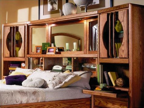 24 clever and comfy bedroom wall unit headboard intended for marathon collection