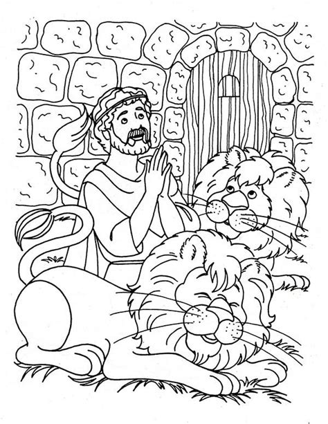 Daniel 3 Coloring Page by Daniel Praying Three Times A Day In Daniel And The Lions