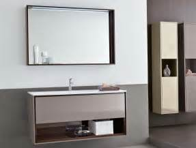 Large Bathroom Mirror With Shelf Above Single Sink Wall Bathroom Sink With Mirror