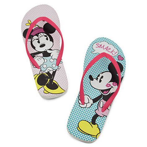 Minnie Mouse Flip by Disney Minnie And Mickey Mouse Flip Flops From Disney Store