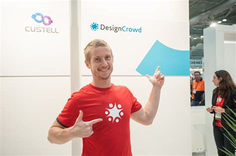 designcrowd one on one designcrowd goes to cebit
