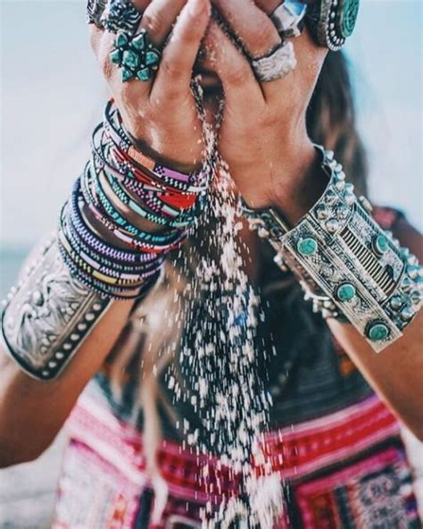 8 Orange And On Trend Accessories by Boho Accessories Bohemian Jewelry Summer Fashion