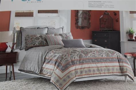Overstuffed Comforter by Vue By Ellery Cocobon F Q Comforter Set 3 Pc New Ebay