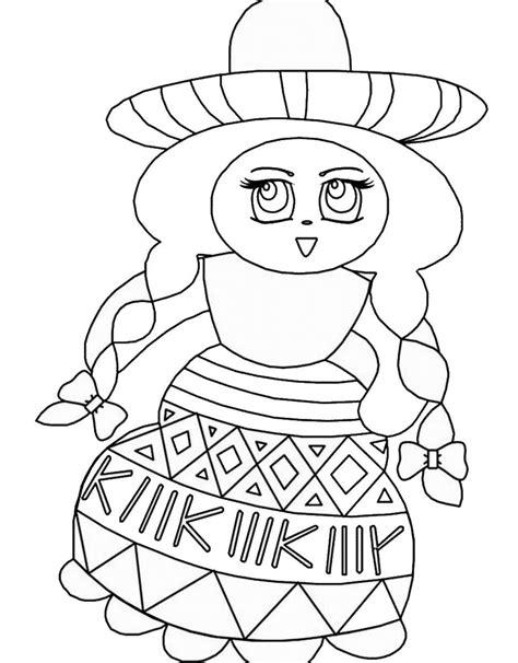 mexican coloring pages mexican coloring pages to print coloring home
