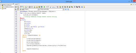 tutorial delphi lengkap pdf project delphi 2 dimensi tutorial lengkap blog ku