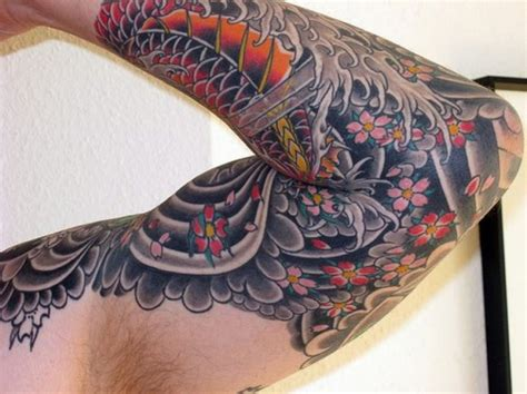 japanese sleeve water tattoo design pictures fashion gallery