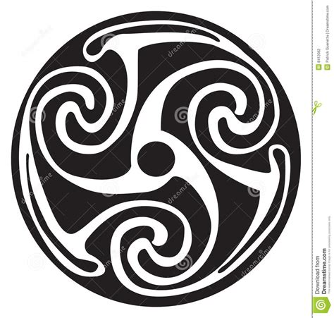 celtic symbol tattoo or artwork stock photography