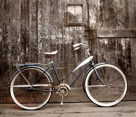 bicycle home decor bicycle original photograph 8 215 10 rustic distressed