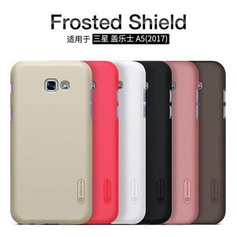 Nillkin Frosted Samsung Galaxy A5 Black Brown nillkin frosted shield for samsung galaxy a5