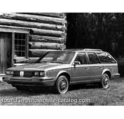 1984 Oldsmobile Cutlass Cruiser 30 V6 Overdrive Automatic  &169 GM