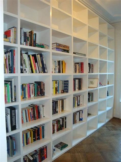 Build A Huge Temporary Wall Room Divider Bookcase Using Using Bookshelves As Room Dividers
