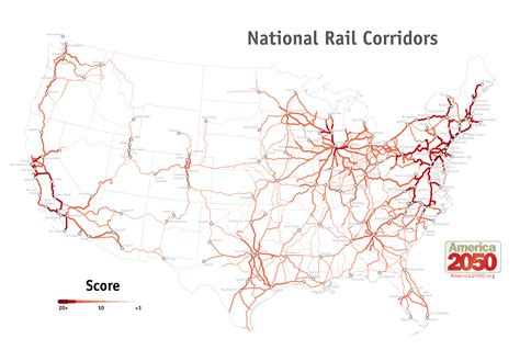 railway map of usa high speed rail in america infrastructureusa citizen