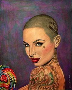 christy mack shaved head christy mack christy mack pinterest more tattoo ideas