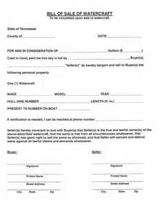 car bill of sale form tennessee pictures to pin on pinterest