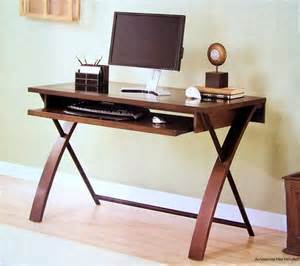 Black Desktop Computer Desk New 48 Quot X 24 Quot Wood Frame Home Office Computer Desk Black