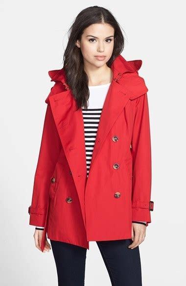 london fog heritage trench coat  detachable hood