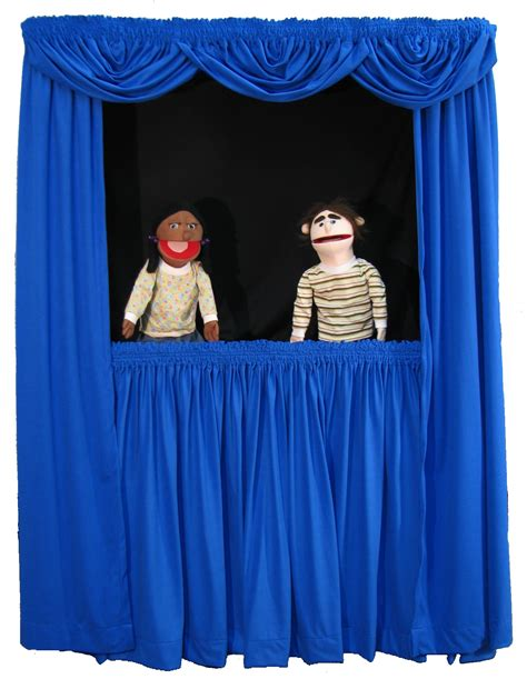 curtains show people puppet stage custom designed products robotronics