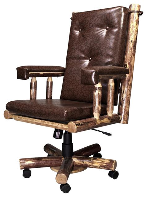 Rustic Office Chair by Swivel Office Chair Rustic Office Chairs By Shopladder