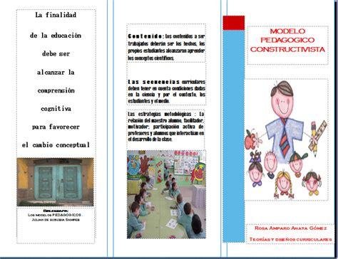 Modelo Curricular Constructivista Enfoques Curriculares Modelo Constructivista