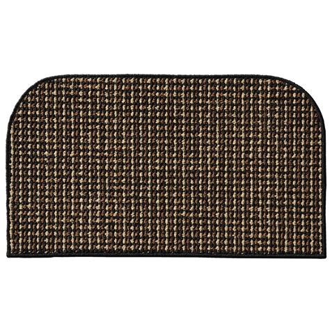 Garland Rug by Garland Rug Berber Coloriations Black 18 In X 30 In