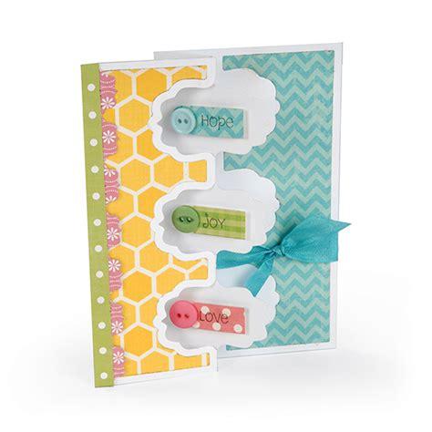flip card template sizzix fancy frame flip its card framelits die