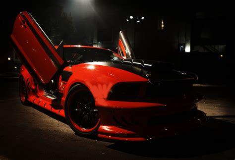 red mist mustang  kick ass  created  galpin auto sports