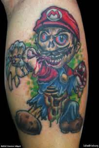 tattoo 3d zombie image result for mario tattoos ink pinterest mario